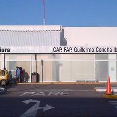 Photo taken at Aeropuerto Internacional Capitán FAP Guillermo Concha Iberico (PIU) by Juan Manuel T. on 6/17/2013
