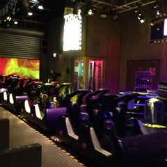Photo taken at Rock'n' Roller Coaster With Aerosmith by Gabriela R. on 4/24/2013