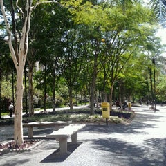 Photo taken at Calçadão Oiapoque by Andrea Kao on 1/7/2013