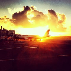 Photo taken at Aéroport Pôle Caraïbes (PTP) by Renaud R. on 1/25/2013