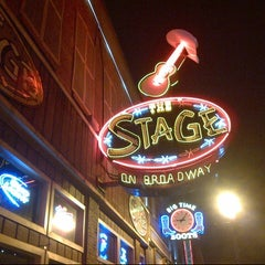 Photo taken at The Stage on Broadway by Ron H. on 3/1/2013