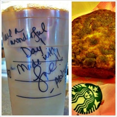 Photo taken at Starbucks by Teekz T. on 4/26/2013