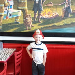 Photo taken at Firehouse Subs by Justin T. on 3/30/2014