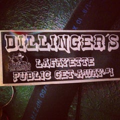 Photo taken at Dillingers Bar & Grill by Colorado Card on 7/24/2013