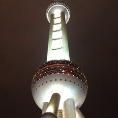 Photo taken at 东方明珠塔 | Oriental Pearl Tower by Simon R. on 10/30/2012