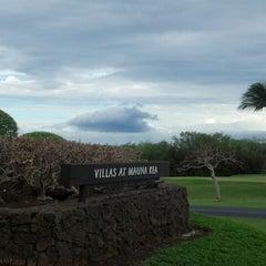 Photo taken at Mauna Kea Beach Resort by Annie M. on 2/22/2013
