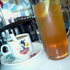 Photo taken at Elephant Bean Cafe by Miea A. on 12/1/2012