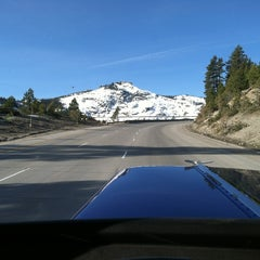 Photo taken at Donner Pass Summit by Brian S. on 3/18/2013
