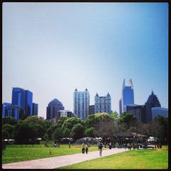 Photo taken at Piedmont Park by Chris D. on 4/20/2013