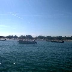Photo taken at Spiaggia Degli Alberoni by Gualtiero Ribelle Mario G. on 8/29/2014