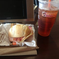 Photo taken at Dunkin' Donuts by B H. on 2/10/2013