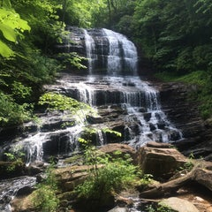 Photo taken at Pearson's Falls by Darian B. on 5/25/2015