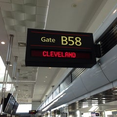 Photo taken at Gate B58 by Tom on 10/22/2013