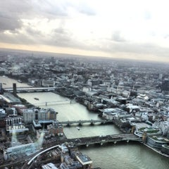 Photo taken at The Shard by Stephen W. on 4/30/2013