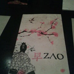 Photo taken at Zao Oriental Cuisine by Michu A. on 7/21/2013