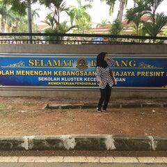 Photo taken at SMK Putrajaya Presint 8(1) by Najihah J. on 10/26/2015