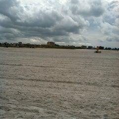 Photo taken at Treasure Island Beach by Jennifer B. on 9/20/2012