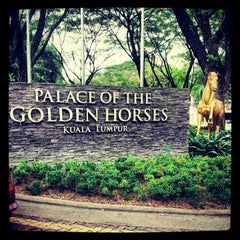 Photo taken at Palace of the Golden Horses by juliana a. on 3/2/2013
