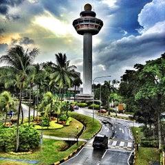 Photo taken at Singapore Changi Airport (SIN) by Eric R. on 2/18/2013
