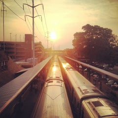 Photo taken at LIRR - Huntington Station by Jody F. on 7/10/2013