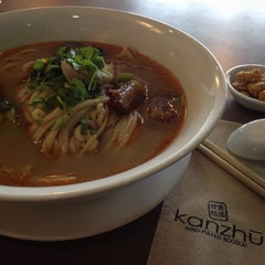 Photo taken at Kanzhū Hand-Pulled Noodles by Shank M. on 2/13/2015