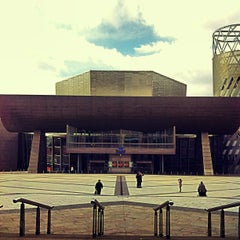Photo taken at The Lowry by Víctor Manuel M. on 3/28/2013