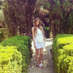 Photo taken at Jardins de la Cartoixa by Yana M. on 7/23/2013