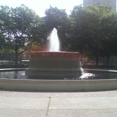 Photo taken at Grand Circus Park by Steve H. on 6/23/2013