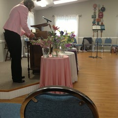 Photo taken at Goodloe Memorial Unitarian Universalist Congregation by 🌟Chelle 🌟 C. on 5/19/2013
