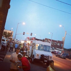 Photo taken at Crossroads Art District by Brian J. on 9/5/2015