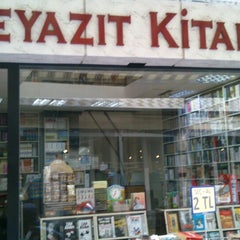 Photo taken at Beyazıt Kitabevi by ahmet g. on 7/9/2013