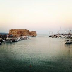 Photo taken at Λιμάνι Ηρακλείου by Makis K. on 7/8/2013