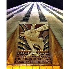 Photo taken at 30 Rockefeller Plaza by Alex M. on 3/13/2013