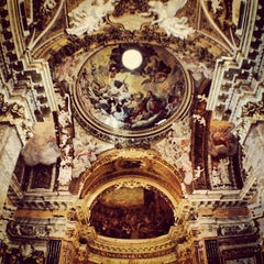 Photo taken at Chiesa di Santa Maria della Vittoria by Sergey R. on 5/3/2013
