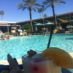 Photo taken at Hotel Valley Ho Pool by Taha E. on 10/14/2012