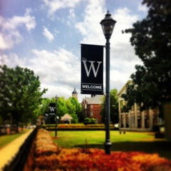 Photo taken at Mississippi University for Women by Rich S. on 4/16/2013
