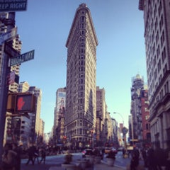 Photo taken at Flatiron Building by Coco C. on 3/9/2013