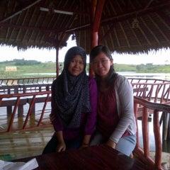 Photo taken at Restoran & Wisata Air Alam Sari by Rita M. on 4/6/2014