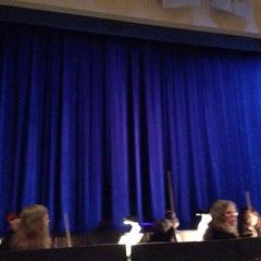 Photo taken at Saratoga Civic Theater by Princess Susannah G. on 11/30/2014