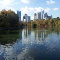 Photo taken at Piedmont Park by Martha P. on 11/21/2012