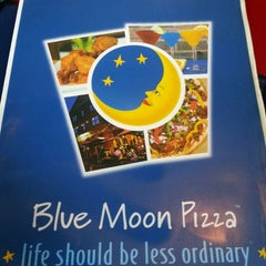Photo taken at Blue Moon Pizza by John P. on 7/1/2013