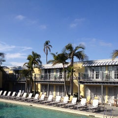 Photo taken at The Lafayette Hotel, Swim Club & Bungalows by Aaron W. on 2/18/2013