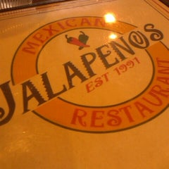 Photo taken at Jalapeno's Mexican Restaurant by Richard Ric E. on 3/19/2013