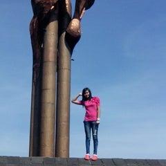 Photo taken at Lapangan Tegalega by Juizyhoney D. on 6/1/2014