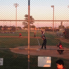 Photo taken at Queenston Baseball Fields by Christina S. on 4/16/2014