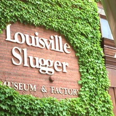 Photo taken at Louisville Slugger Museum & Factory by Carlos B. on 5/6/2013