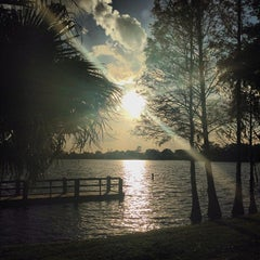 Photo taken at Gaston Edwards Park by Laura H. on 1/11/2014