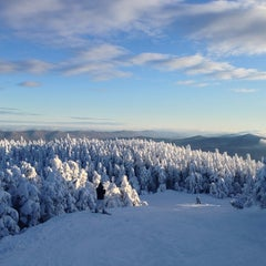 Photo taken at Sugarbush Resort - Lincoln Peak by Josh F. on 12/25/2012