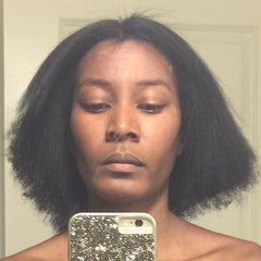 Photo taken at De Lux Natural Hair Gallery by joy j. on 4/21/2015