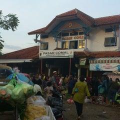 Photo taken at Pasar Comal by dimas a. on 4/1/2013
